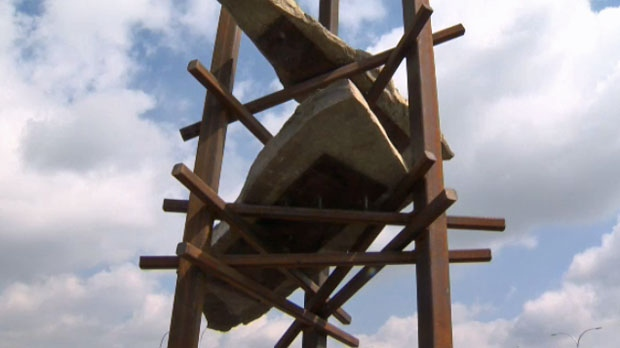 Bowfort Towers sculpture