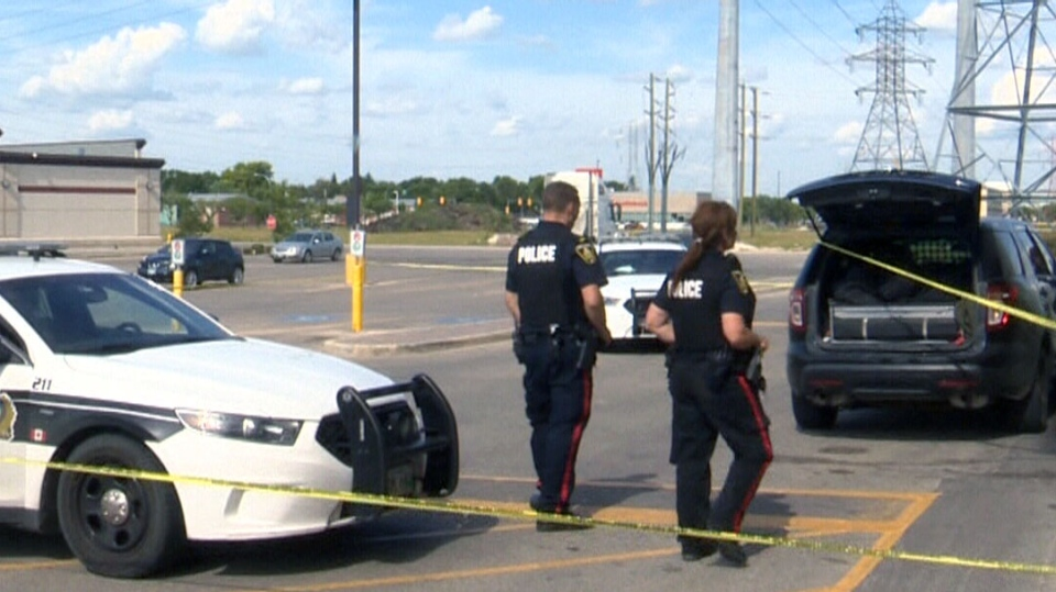 Winnipeg Cop Shot By His Own Holstered Gun Outside Grocery