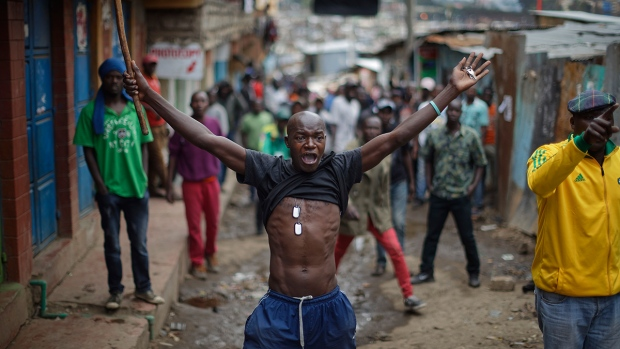 Deadly protests erupt in Kenya after election