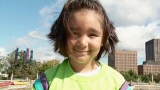 8-year-old Ellie.