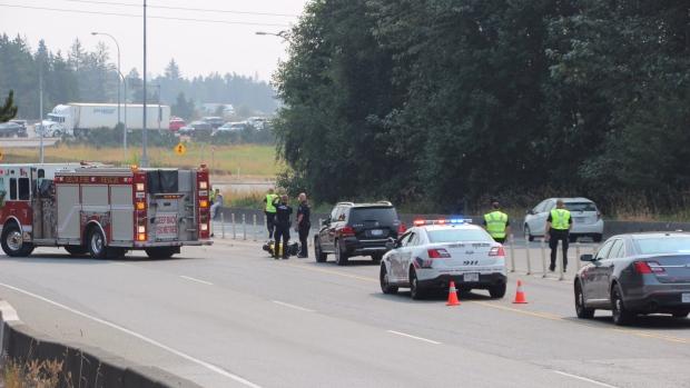 Nordel way motorcycle crash Delta