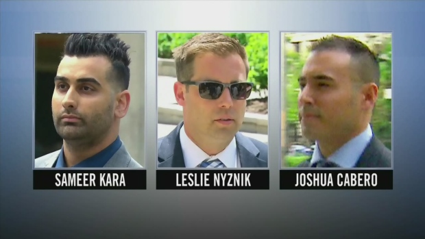 Image result for Judge finds 3 Toronto cops not guilty of sexually assaulting parking enforcement officer
