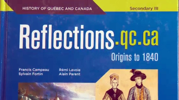 The textbook for Quebec's new high school history course will be used in classrooms starting in 2017
