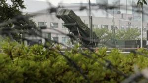 Missiles in GuamBomber in Guam