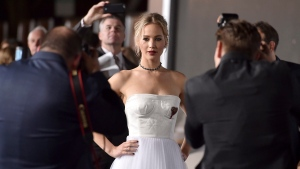 Jennifer Lawrence opened up on her relationship with director Darren Aronofsky in an interview with Vogue magazine published online on Aug. 9, 2017. (Photo by Jordan Strauss/Invision/AP, File)