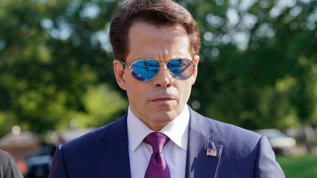 Anthony Scaramucci is angrily tweeting at the journalist who got him fired