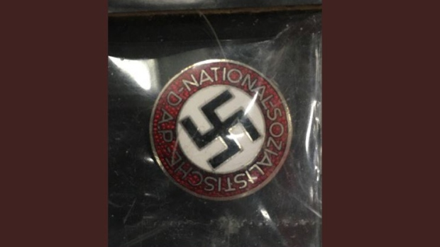 Nazi memorobilia for sale in Pickering, Ont.