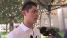 Windsor Spitfires goalie Michael DiPietro received keys to Amherstburg
