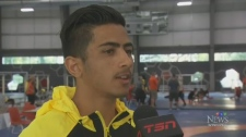 Refugee hoping for medal at Canada Summer Games