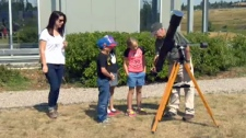 TELUS Spark - eclipse viewing preview