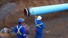 Kinder Morgan pipeline construction