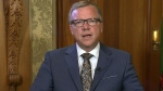 Brad Wall speaks about decision to retire