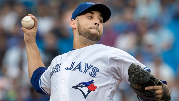 Jays' Marco Estrada reportedly claimed off waivers by unknown team