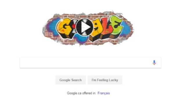 Google hip-hop doodle