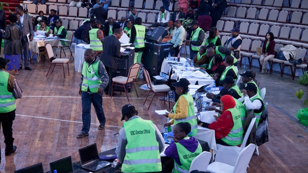Votes for Kenya presidential election counted
