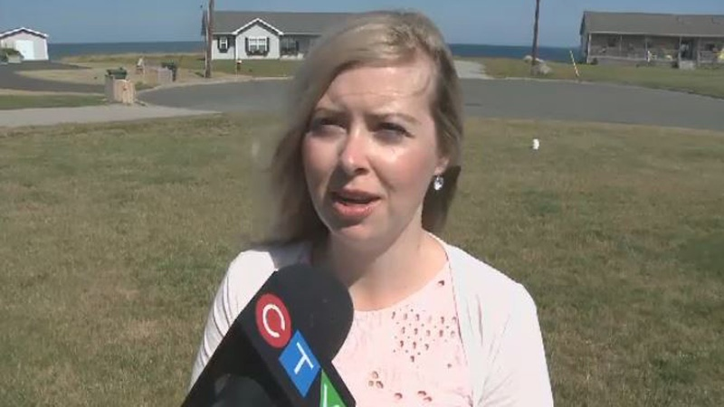 Glace Bay resident Nicole MacLean says she's concerned about small pets in the neighbourhood after an eagle was captured on camera attacking and killing a seagull.