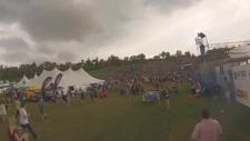 Edmonton Folk Music Festival evacuation
