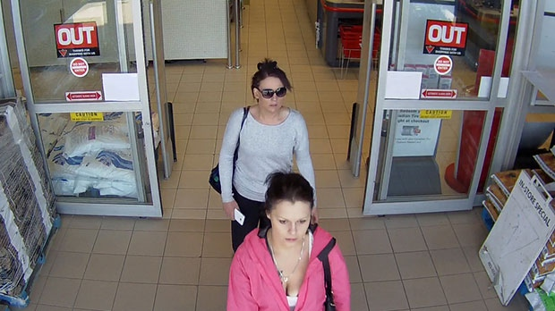 Police released an image of two people who may have information on an incident and are asking anyone who knows them to contact Cochrane RCMP.