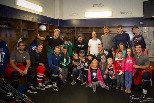 NEO Kids at NHL vs. Docs charity