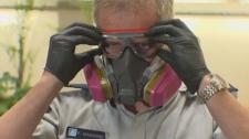 Fentanyl protective gear
