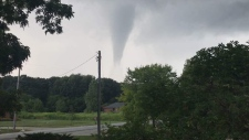 Funnel Cloud near Leamington