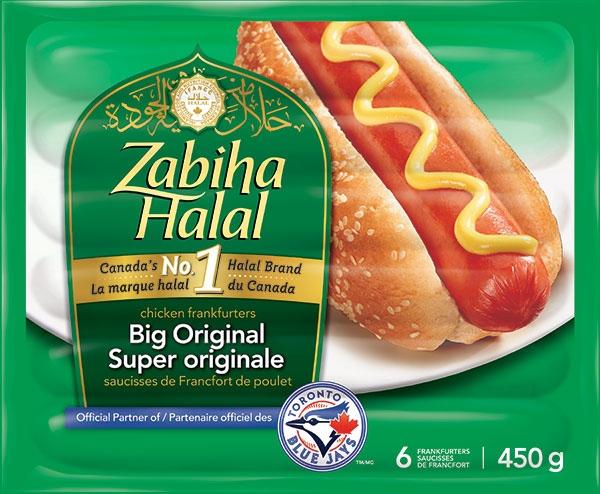 Zabiha Halal's Big Original Chicken Frankfurters. (CFIA)