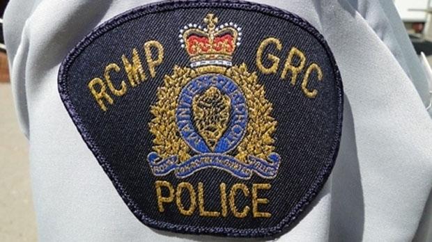 RCMP car fire