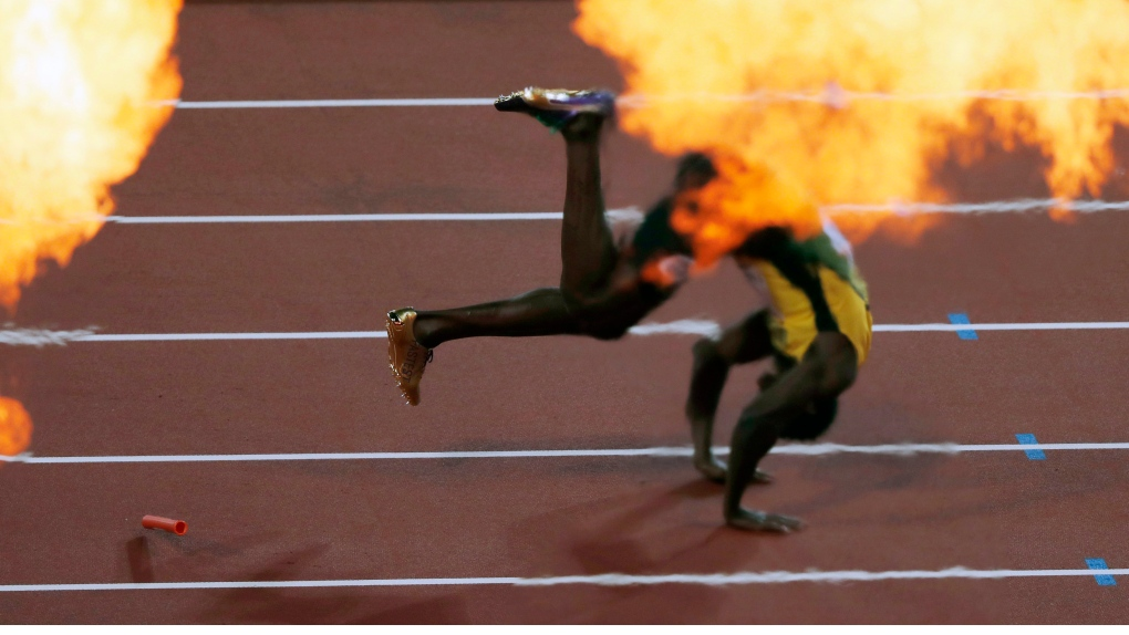 dd3576d4526 Usain Bolt ends record-breaking career with injury | CTV News