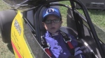 Youngsters in dragster series at St. Thomas Raceway Park