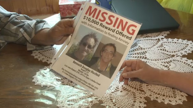 The family has made up new posters, and they're offering up a $10,000 award for anyone with information about Kenny's whereabouts.