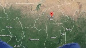 Ouagadougou, Burkina Faso is indicated on this map. (Google maps)