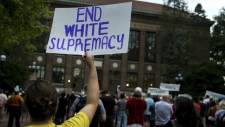 Protests over white supremacy rally