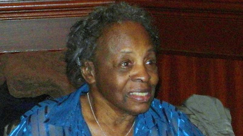 Daisy Sweeney celebrating her 90th birthday in 2010