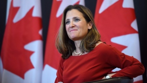 Foreign Affairs Minister Chrystia Freeland makes CTV Power Play host Don Martin's top five list of political power players of the year.