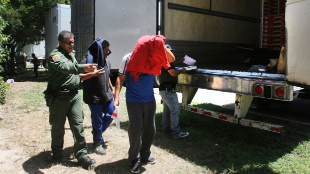 Immigrants Were Rescued From a Truck Parked at a Texas Rest-Stop