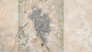 The city of Timbuktu in Mali is seen in this Google Maps image. (Google Maps)