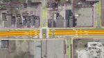 Plans for BRT lanes along Dundas.