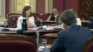 Stephanie Vallée is overseeing hearings on Bill 62 concerning religious accommodation