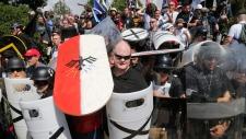 White nationalist demonstrators