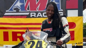 "Professional racer Joi ""SJ"" Harris died while filming a stunt sequence for Deadpool 2 in downtown Vancouver this week. (Facebook)"