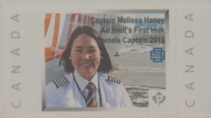 Melissa Haney is the first female Inuk captain at Air Inuit