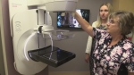 State-of-the-art mammogram machine at St. Joseph's Health Centre in London