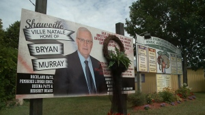 Shawville's tribute to Bryan Murray