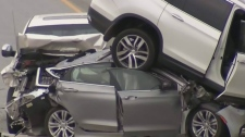 Distracted driving a possible factor in crash