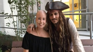 Depp's hospital tour guide shares her story