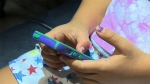 Experts say children may experience discomfort during or after using a digital device.