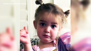 This little girl is not impressed with preschool
