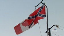 Canadian, Confederate flag