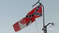 Canadian, Confederate flag