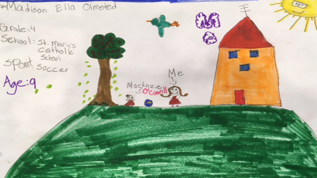 Madison Olmsted, Age 9, Grade 4, St. Mary's School in Carleton Place